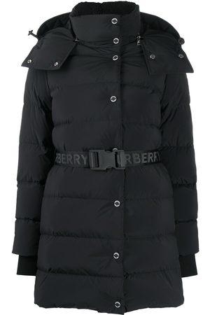 Burberry Mujer Abrigos largos - Abrigo corto acolchado con capucha