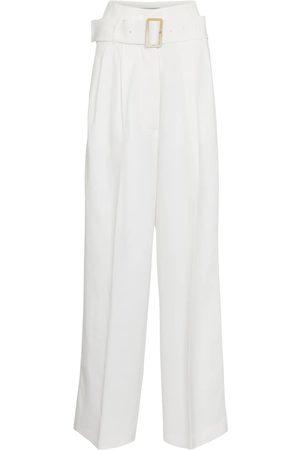 Golden Goose Mujer Pantalones de talle alto - Pantalones Cleofe de tiro alto