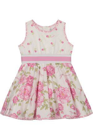MONNALISA Bebé - vestido de algodón floral