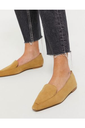 ASOS Mocasines color topo de ante Miley de -Beis