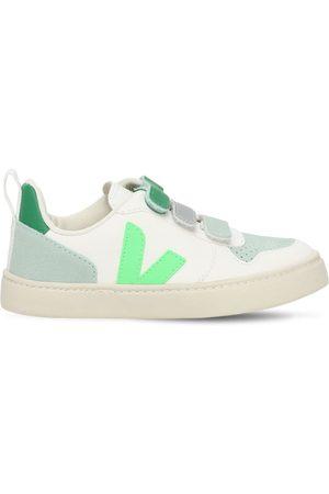 Veja | Niña Sneakers De Piel Con Correa 27
