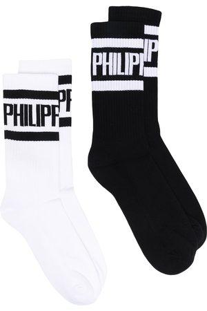 Philipp Plein Calcetines con logo