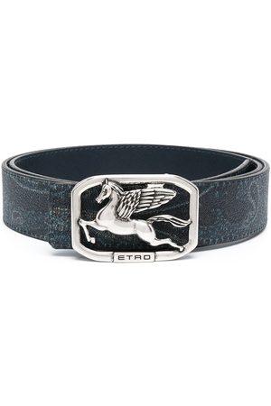 Etro Cinturón con hebilla del logo