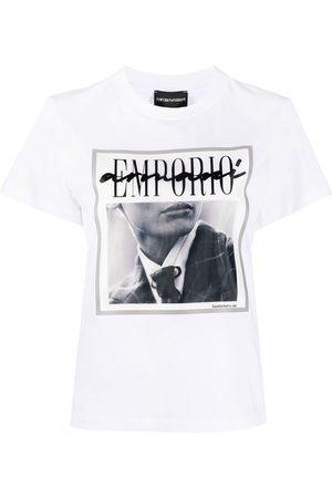 Emporio Armani Camiseta con estampado gráfico