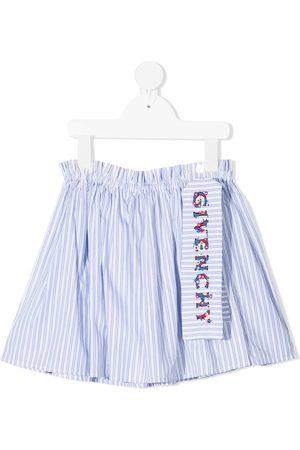 Givenchy Falda a rayas con bordado