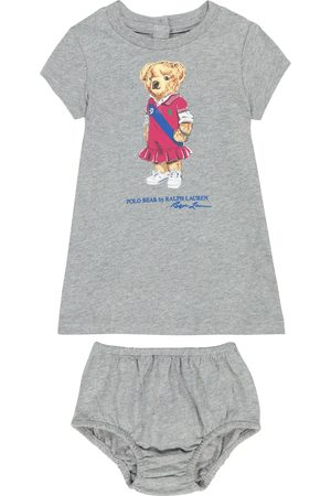 Ralph Lauren Bebé – vestido y braga Polo Bear