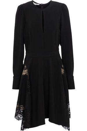 Stella McCartney Vestido corto Celeste de cady