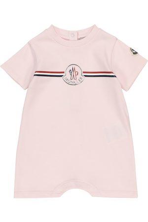 Moncler Bebé - body de algodón con logo