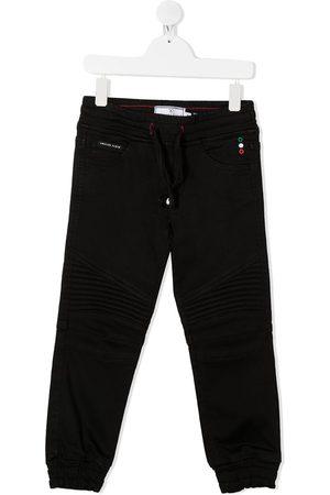 Philipp Plein Junior Niño Chándals - Pantalones de chándal con logo