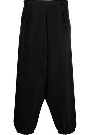 Saint Laurent Pantalones capri tapered