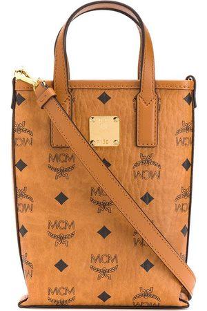 MCM Bolso shopper con logo estampado