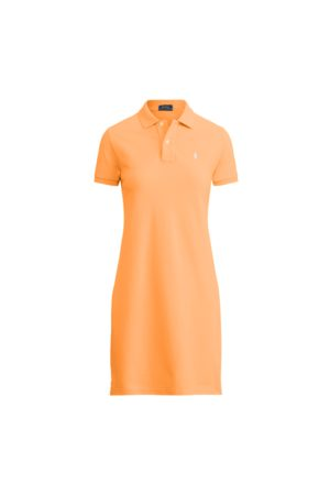 Polo Ralph Lauren Vestido Polo de piqué de algodón