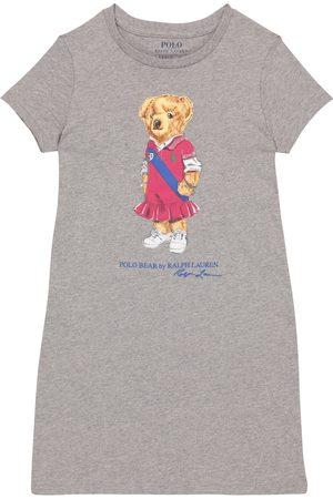 Polo Ralph Lauren Kids Niña Vestidos - Vestido Polo Bear de algodón