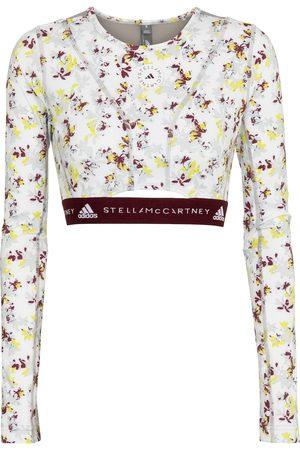 Adidas by Stella McCartney Crop top Future Playground floral