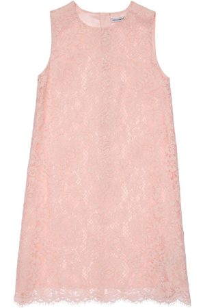 Dolce & Gabbana | Niña Vestido De Encaje Sin Mangas 8a