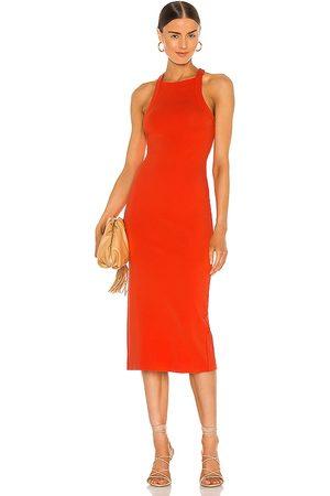 NBD Vestido midi hollie en color rojo talla L en - Red. Talla L (también en M, S, XL, XS, XXS).