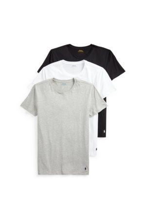 Polo Ralph Lauren Hombre Camisetas de interior - Paquete de 3 camisetas de cuello redondo