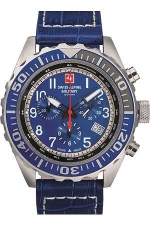Swiss Alpine Military Reloj analógico 7076.9535, Quartz, 44mm, 10ATM para hombre