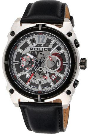 Police Reloj analógico PL16020JSTB.04, Quartz, 46mm, 5ATM para hombre