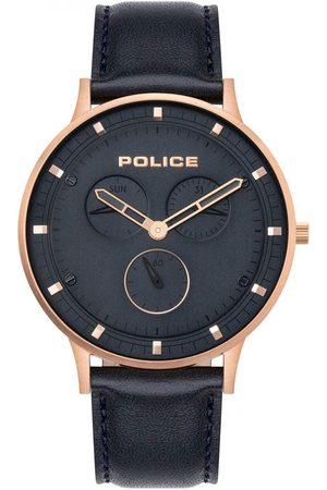 Police Reloj analógico PL15968JSR.03, Quartz, 42mm, 3ATM para hombre