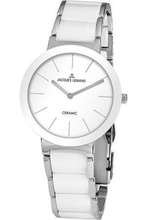Jacques Lemans Reloj analógico 42-8B, Quartz, 40mm, 10ATM para hombre