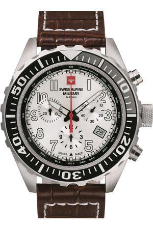 Swiss Alpine Military Reloj analógico 7076.9532, Quartz, 44mm, 10ATM para hombre
