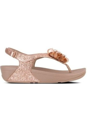FitFlop Chanclas BOOGALOO TM BACK STRAP SANDAL - ROSE GOLD es para mujer