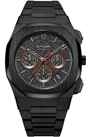D1 MILANO Reloj analógico CHBJ06, Quartz, 42mm, 5ATM para hombre