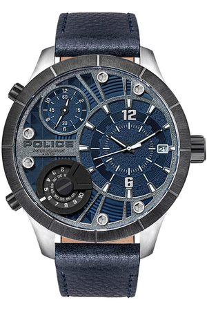 Police Reloj analógico PL15662XSTU.03, Quartz, 52mm, 5ATM para hombre