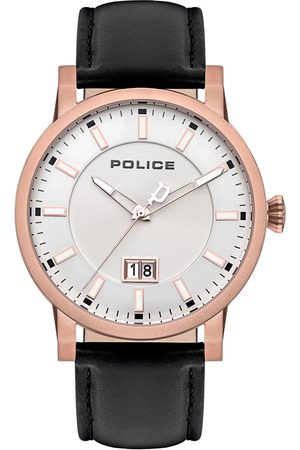 Police Reloj analógico PL15404JSR.04, Quartz, 46mm, 5ATM para hombre