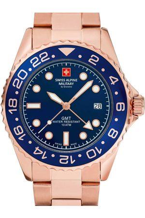 Swiss Alpine Military Reloj analógico 7052.1165, Quartz, 42mm, 10ATM para hombre
