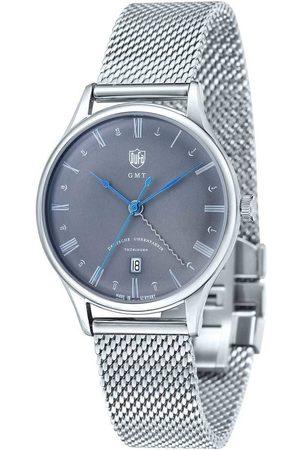 DUFA Reloj analógico DF-9006-11, Quartz, 38mm, 3ATM para hombre