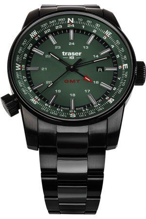 Traser H3 Reloj analógico 109525, Quartz, 46mm, 10ATM para hombre