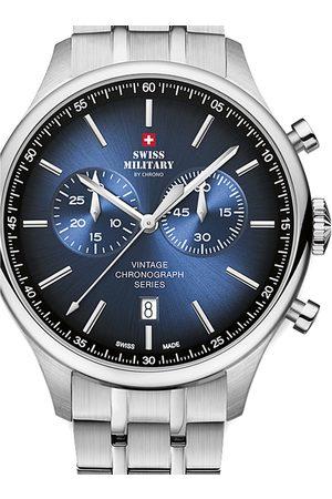 CHRONO Reloj analógico SM30192.07, Quartz, 42mm, 10ATM para hombre