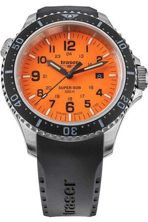 Traser H3 Reloj analógico 109380, Quartz, 46mm, 50ATM para hombre