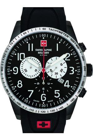 Swiss Alpine Military Reloj analógico 7082.9877, Quartz, 45mm, 10ATM para hombre