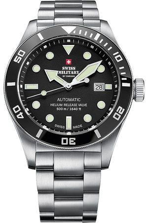 CHRONO Reloj analógico SMA34075.01, Automatic, 44mm, 50ATM para hombre