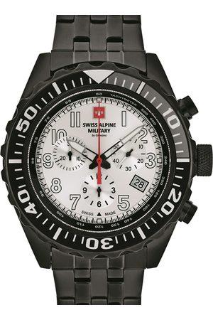 Swiss Alpine Military Reloj analógico 7076.9172, Quartz, 44mm, 10ATM para hombre