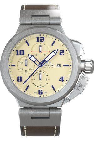 Tw-Steel Reloj analógico ACE202, Automatic, 46mm, 10ATM para hombre