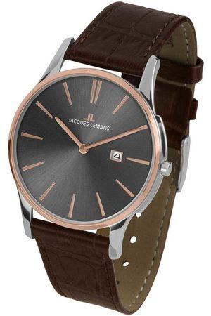 Jacques Lemans Reloj analógico 1-1936E, Quartz, 40mm, 10ATM para hombre