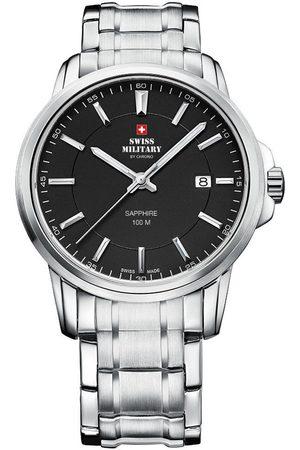 CHRONO Reloj analógico SM34039.01, Quartz, 40mm, 10ATM para hombre