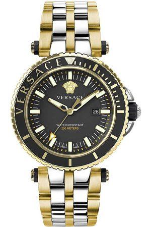 VERSACE Reloj analógico VEAK00518, Quartz, 46mm, 5ATM para hombre
