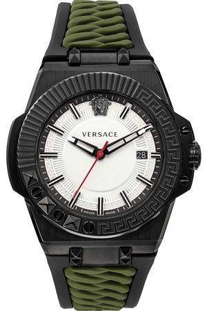 VERSACE Reloj analógico VEDY00419, Quartz, 46mm, 5ATM para hombre