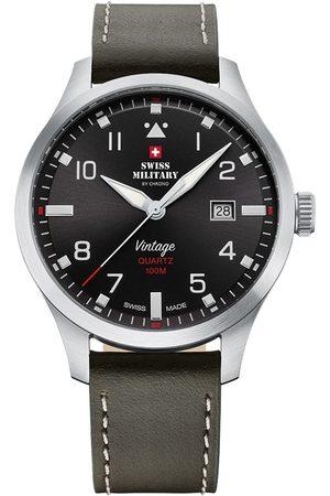 CHRONO Reloj analógico SM34078.04, Quartz, 43mm, 10ATM para hombre