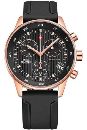 CHRONO Reloj analógico SM30052.07, Quartz, 40mm, 5ATM para hombre
