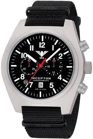 Khs Reloj analógico .INCSC.NB, Quartz, 46mm, 10ATM para hombre