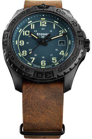 Traser H3 Reloj analógico 109040, Quartz, 44mm, 20ATM para hombre