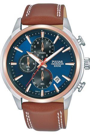 Pulsar Reloj analógico PM3120X1, Quartz, 44mm, 10ATM para hombre