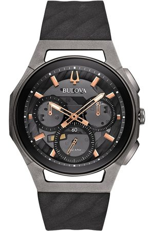 BULOVA Reloj analógico 98A162, Quartz, 44mm, 3ATM para hombre