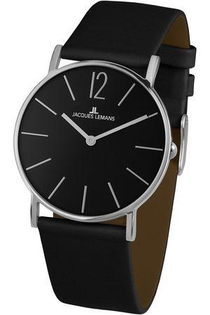 Jacques Lemans Reloj analógico 1-2030A, Quartz, 40mm, 5ATM para hombre